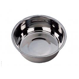 Gamelle pour chien chromée Ø 25 cm