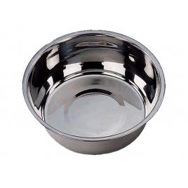 Gamelle pour chien chromée Ø 29 cm