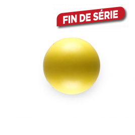 Balle en caoutchouc jaune Ø 6 cm