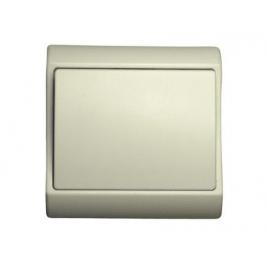 Interrupteur unipolaire encastrable blanc PROFILE