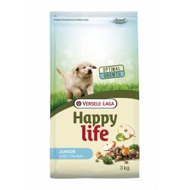 Sac de croquettes pour chiot Happy Life Poulet 3 kg