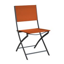 Chaise de jardin pliante Dream paprika