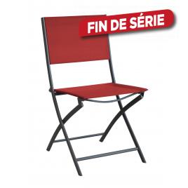 Chaise de jardin pliante Dream rouge