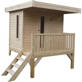 Cabane pour enfant 1,8 x 1,8 x 2,27 m SOLID