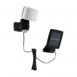Projecteur noir avec détecteur de mouvement Casabas LED 5,4 W EGLO