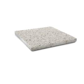 Palette 56 Dalles blanches en béton 50 x 50 x 4 cm COBO GARDEN (livraison à domicile)
