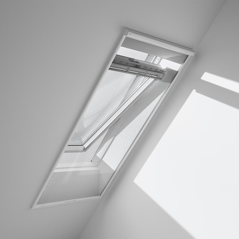 Tringle Pour Fenetre De Toit moustiquaire pour fenêtre de toit zil mk06 blanc velux - mr.bricolage