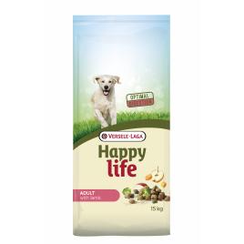 Sac de croquettes pour chien Happy Life Agneau 15 kg