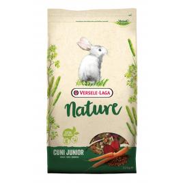 Muesli enrichi pour lapin nain Nature Cuni Junior 2,3 kg
