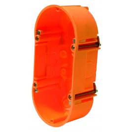 Boîte d'encastrement double pour parois creuses 45 mm HELIA