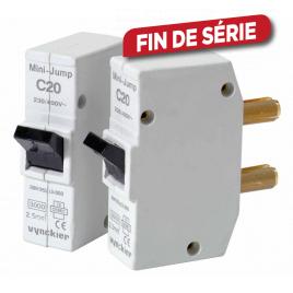Disjoncteur à broches Mini-Jump 20 A 2 pièces VYNCKIER