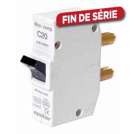 Disjoncteur à broches Mini-Jump 20 A VYNCKIER