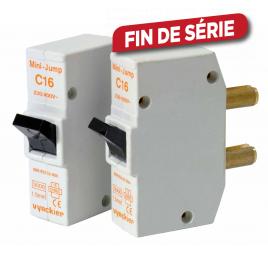 Disjoncteur à broches Mini-Jump 16 A 2 pièces VYNCKIER