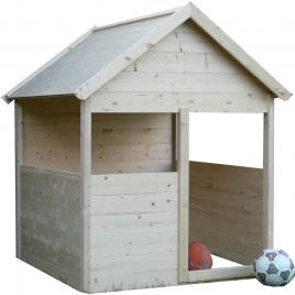 Cabane pour enfant en bois 1,2 x 1,2 x 1,55 m SOLID