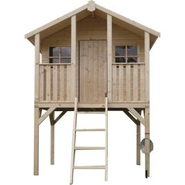 Cabane pour enfant sur pilotis 1,8 x 1,9 x 2,8 m SOLID