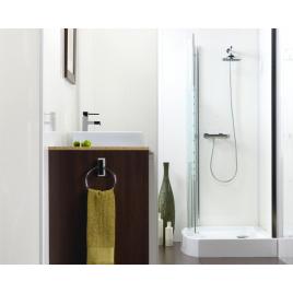 Lambris PVC Blanc mat 260 x 25 cm DUMAPAN