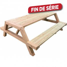 Table pique-nique 200 x 175 x 70 cm SOLID