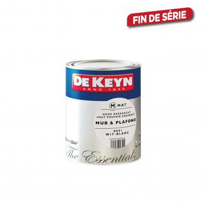 Peinture pour mur et plafond gris 201 mat 1 l de keyn - Peinture pour mur de garage ...