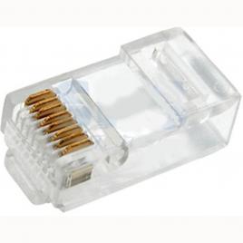 Fiche RJ45 pour câble rond 10 pièces