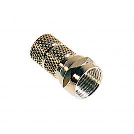 Set de connecteur coaxial à visser Ø 6,8 mm 2 pièces