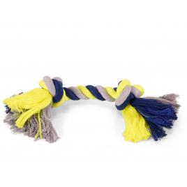 Corde à 2 noeuds pour chien 28 cm