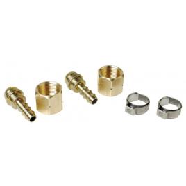 Set de raccord pour tuyau Ø 6,3 mm