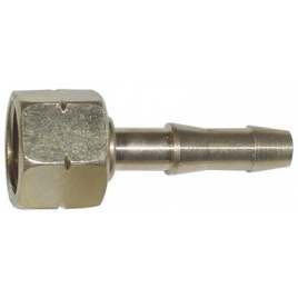 Raccord 3/8G avec collier 8 mm