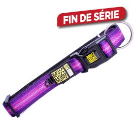 Collier pour chien Booster Purple 39 à 62 cm