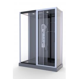 Cabine de douche Premium II XXL 140 x 85 x 215 cm AURLANE