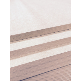 Palette 60 Panneaux MDF 244 x 122 x 1,5 cm (livraison à domicile)