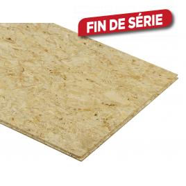 Palette 150 Panneaux OSB Krono 244 x 59 x 1,2 cm (livraison à domicile)