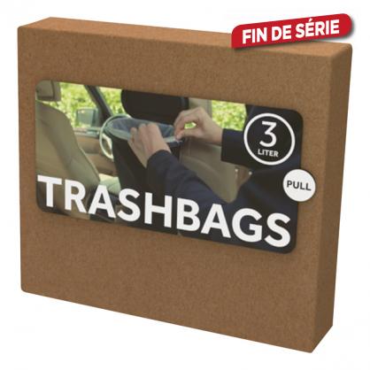 Sac poubelle Flextrash biodégradable 3 L 10 pièces