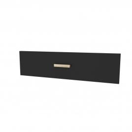 Façade de tiroir pour caisson Fjord 80 cm noir AURLANE