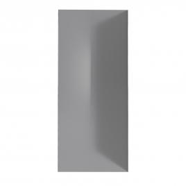 Panneau de mur de douche Colors gris 90 x 210 cm AURLANE