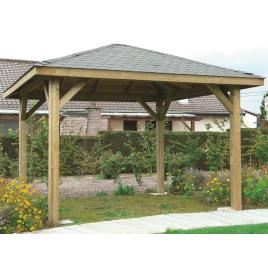 Pavillon modulable 4,37 x 4,37 m SOLID