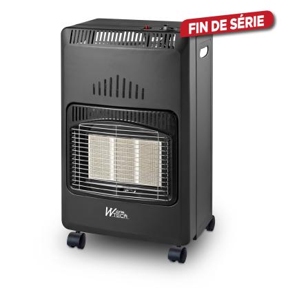 Poêle à gaz infrarouge pliable 4200 W WARMTECH