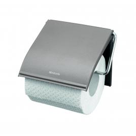 Porte-rouleau papier toilette Classic platinum BRABANTIA