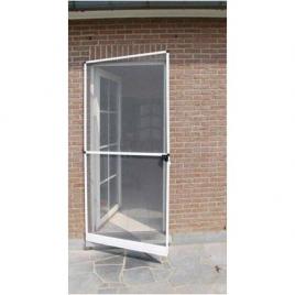 Porte moustiquaire Louisiana blanc 100 x 215 cm CONFORTEX