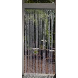 Rideau de porte Twist transparent 90 x 200 cm CONFORTEX