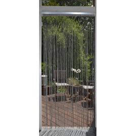 Rideau de porte Swing gris 90 x 200 cm CONFORTEX