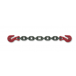 Chaîne d'arrimage avec 2 crochets 3,5 m 6,3 t KEYLOAD