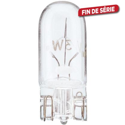 Ampoule pour voiture T10 WEDGEBASE 2 pièces 5 W