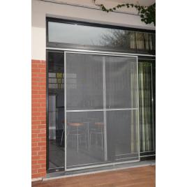 Porte Moustiquaire Veranda grise 150 x 220 cm CONFORTEX