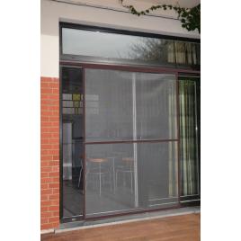 Porte Moustiquaire Veranda brune 150 x 220 cm CONFORTEX