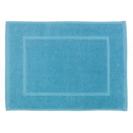 Tapis de salle de bain Zen bleu 60 x 40 cm