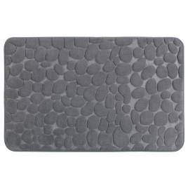 Tapis de salle de bain Memory Pebbles gris 80 x 50 cm WENKO