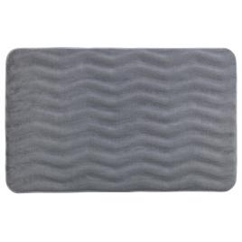 Tapis de salle de bain Memory Waves gris clair 80 x 50 cm WENKO