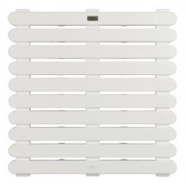 Caillebotis de douche In & Outdoor blanc 55 x 55 x 3 cm WENKO
