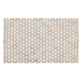 Tapis de salle de bain Bambou massif 80 x 50 cm WENKO