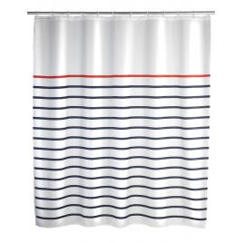 Rideau de douche anti-moisissure Marine 180 x 200 cm WENKO
